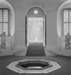 Cabinet des bains de Versalles. Hoy se encuentra en l'Orangerie.