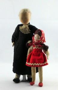 Abuela y nieta de Erna Meyer. 1949. Gentileza de su hija Gabrielle