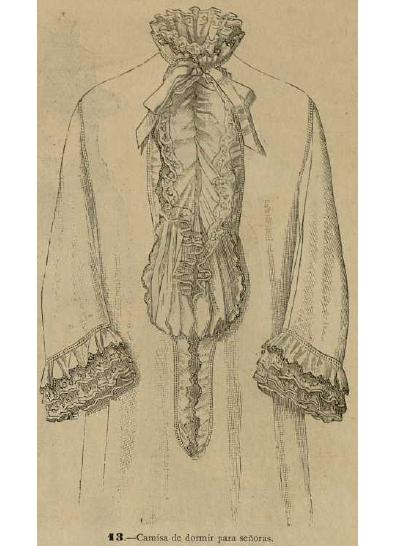 La Moda elegante ilustrada. 1.884. Biblioteca Universitaria de la UGR. CC ES.