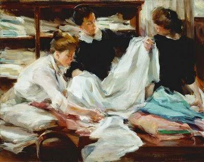 Elizabeth Sparhawk-Jones (1.885-1.968). Shop girls. 1.912.