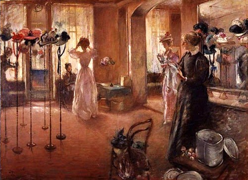 henry-tonkshenry-tonksbritish-artist-1861-1937-the-hat-shop-1892