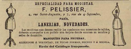 La Moda elegante ilustrada, 1883. Biblioteca Universitaria de la UGR. CC ES.