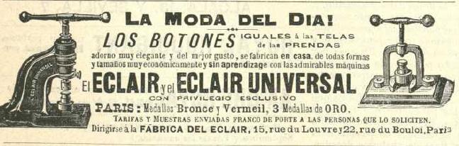 La Moda elegante ilustrada, 1896. Biblioteca Universitaria de la UGR.