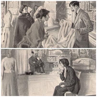 Narciso Méndez Bringa, 1.868 - 1933. Tiendas populares. 1913. Pinterest.
