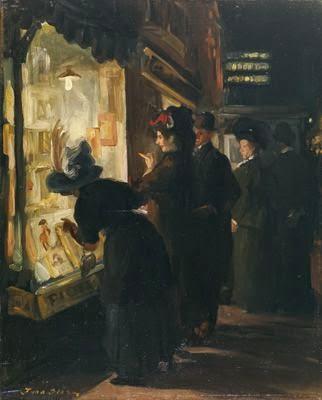 John French Sloan (1.871 – 1.951). Shop Window. 1.907.