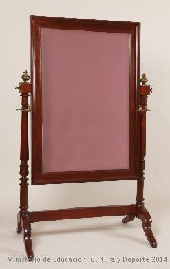 Espejo Psiqué. Fuente Ceres. Mediados del s. XIX. Museo del Romanticismo. Inv.CE0307. Con licencia.