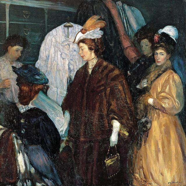 William-Glackens-1870-1938-The-Shoppers-1907