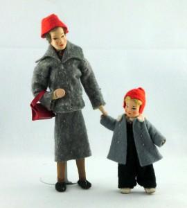 Dos niñas. Erna Meyer. 1949. Gentileza de su hija Gabrielle John von Freyend ©