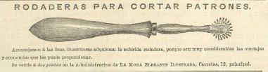 Esta ilustración aparece en La Moda elegante. Año XXXVII, nº 5 que se en encuentra en la biblioteca Universitaria de la Universidad de Granada. CC ES. (Aparece repetida en muchos números)