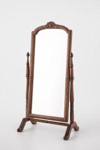 """Espejo """"psiqué"""" realizado por Cristina Noriega. Cortesía de la autora.©."""