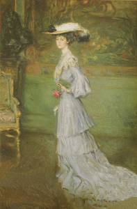 Helleu, Consuelo Vanderbilt, Duquesa de of Marlborough. Ca. 1.900