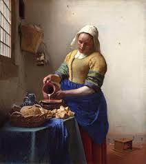 """""""La lechera"""" de Johannes Vermeer. (1632)"""