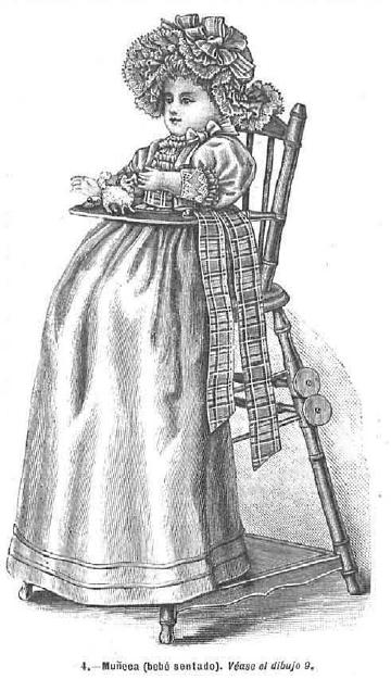 Muñeco. La Moda elegante. 1.890. Biblioteca Universitaria de la UGR. CC ES.