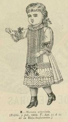 La Moda elegante ilustrada. 1.882. Biblioteca Universitaria de la UGR. CC ES.