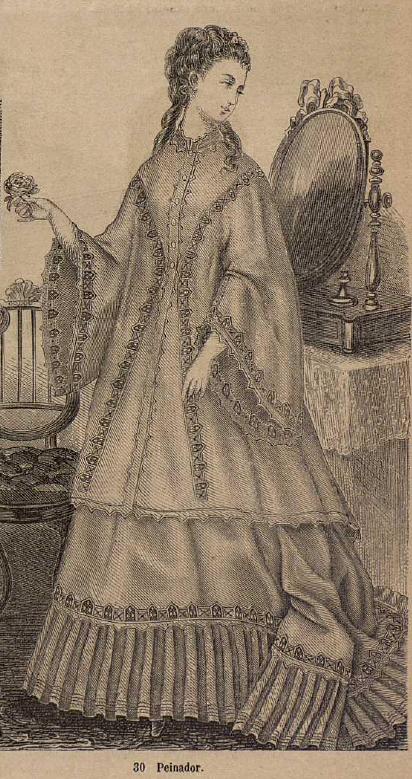 El Correo de la moda. 1.869. Biblioteca Universitaria de la UGR. CC ES.