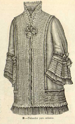La Moda elegante ilustrada. 1.878. Biblioteca Universitaria de la UGR. CC ES.