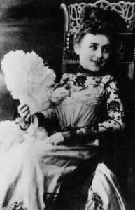 Käthe Gruse en su juventud. Fotografía tomada de internet.