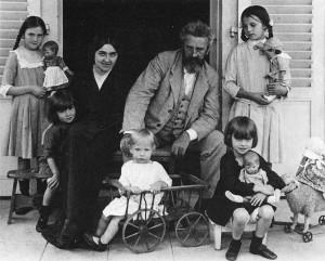 Familia Kruse en 1.914.