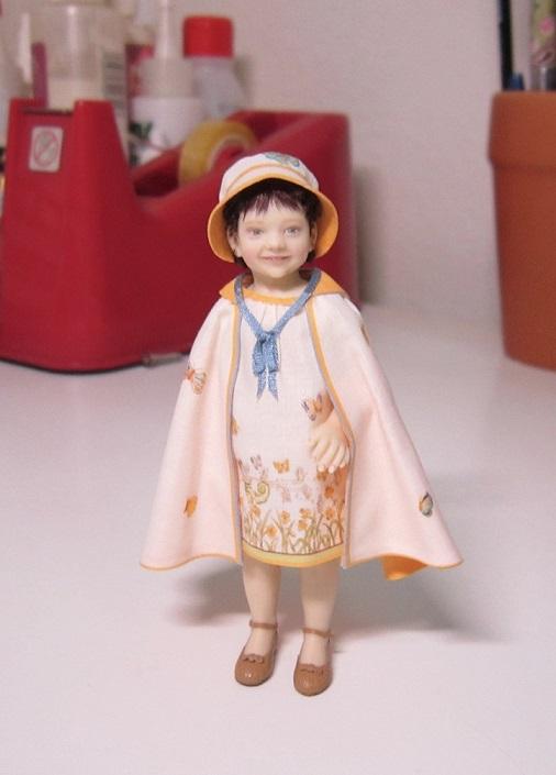 Niña de 1.925, obra de María José Santos que se encuentra en el Museo Fidma (Los Angeles) ©