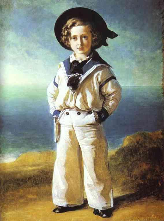 Príncipe Alberto Eduardo pintado por Wintehalter
