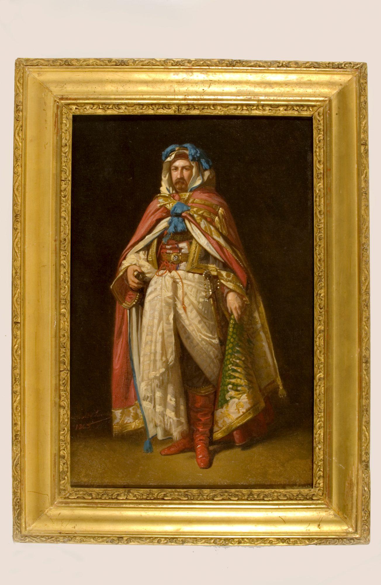 Antonio María de Orleans, duque de Montpensier (1.824-1.890). DE1361B. Colección del Museo de Artes y Costumbres Populares de Sevilla. Consejería de Cultura de la Junta de Andalucía.