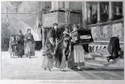 Bautizo. Siglo XIX