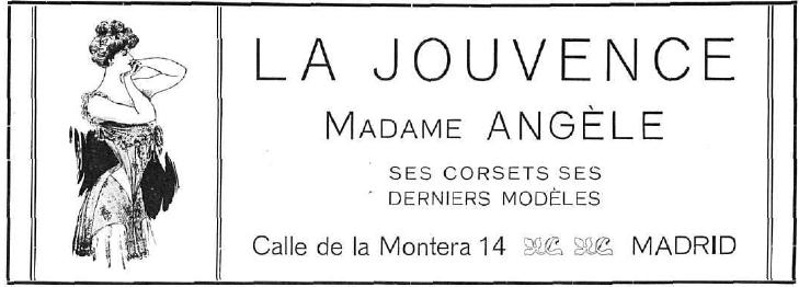 La dama y la vida ilustrada. Mayo de 1.908.