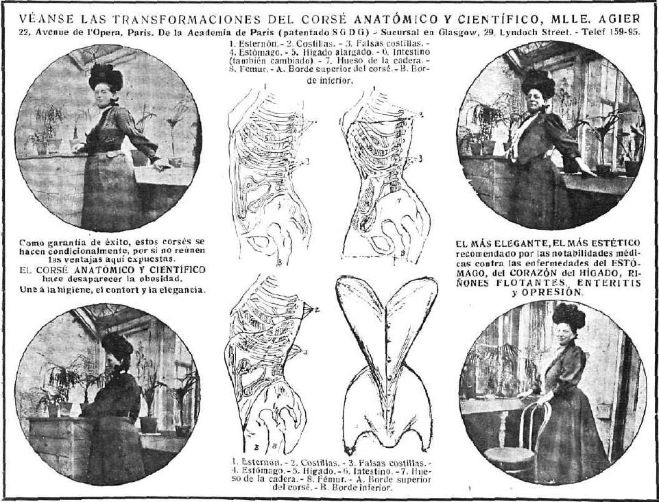 La Dama y la vida ilustrada. 1.908