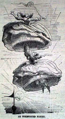 Oh! nunca me había subido a un globo aerostático.