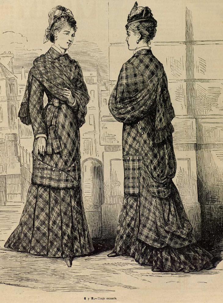 La Moda elegante. 1.878. Biblioteca Universitaria de la UGR. CC EE,