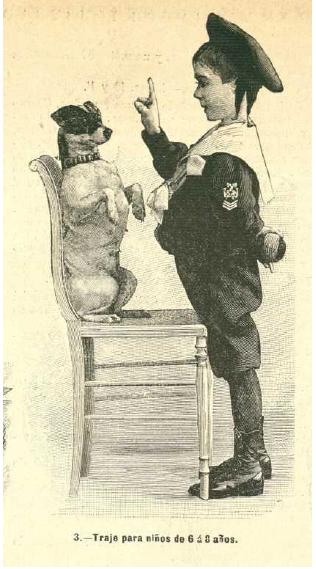 La Moda elegante ilustrada, 1.896. Biblioteca Universitaria de la UGR. CC ES.