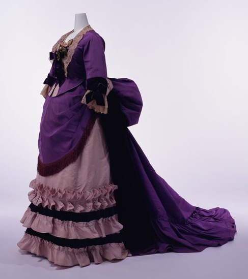 Caharles F. Worth. 1.874. Kyoto Costume Institute.