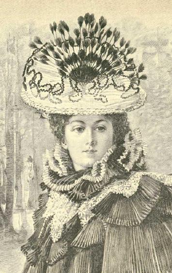 La Moda elegante. 1.1895. Biblioteca Universitaria de la UGR. CC ES.