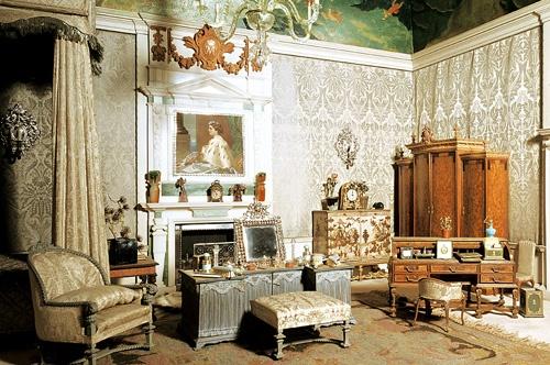 Dormitorio de la reina. Tomado de internet.